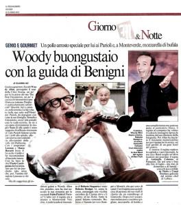 Woody Allen da Molto con Benigni